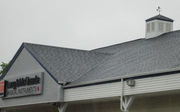 New roof on business